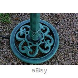 3 Tier Water Fountain Bird Bath Out In Door Garden Patio Decor Electric Pump NEW