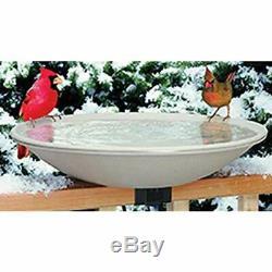 (650) Birdbath Accessories Heated Bath Mounting Bracket Garden & Outdoor