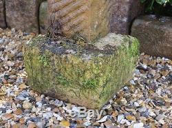 A Hand Carved Cotswold Stone Bird Bath Birdbath Garden Ornament Bird Feeder