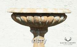 Athens Stonecasting Baroque Garden Bird Bath