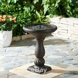 Better Homes Gardens Fairfield Solar Powered Bird Bath