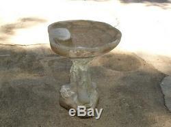 Concrete Bird Bath / Cement Birdbath / Garden Statue (Jacksonville, Florida FL)