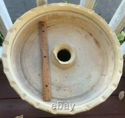 Evans Pottery Dexter MO Bird Bath Primitive 26 Tall Decor Rare Collectible
