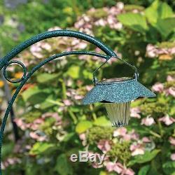 GardenKraft 10009 Decorative Garden Verdigris Effect Green Metal Lights 90x45 cm