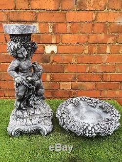 Grape Vine Bird Bath/Feeder (TOP ONLY) Latex ONLY Garden Ornament Mould