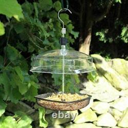 Hanging Mealworm Birds Seeds Feeder Wild Nut Fat Ball Garden Feeding Station Fat