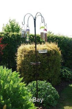 Luxury Deluxe Wild Bird Feeding Station Garden Bird Feeder Bath Tray Table Seeds