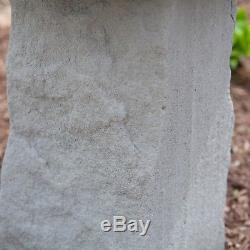 Modern Bird Bath Cast Stone Pedestal Garden Outdoor Yard Art Birdbath Sculpture