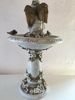 ROMAN Joseph Studio 24 Angel Birdbath Garden Statue Figure NEW