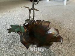Vintage Garden copper Bird Bath Handmade