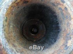 Vtg HAZEN #2 Cast Iron Hand Water Well Pump HUDSON MICH FLOWER GARDEN BIRD BATH